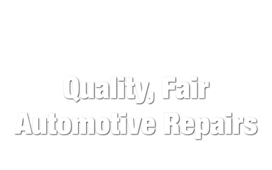 Quality, Fair Automotive Repairs